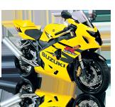 Suzuki GSXR600 04-05
